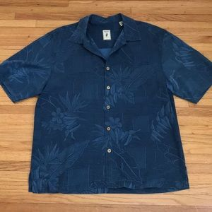 Jamaica Jaxx silk authentic island style shirt